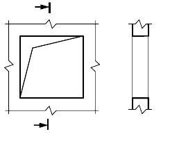 Что означает представленное на чертеже условное обозначение?